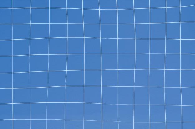 Textura da parede de azulejo azul distorcida