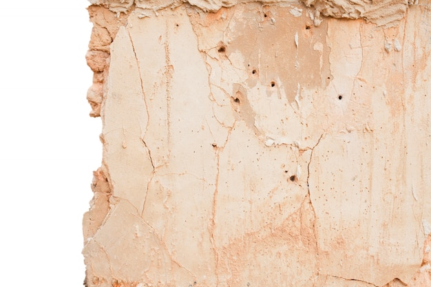 Textura da parede de danos