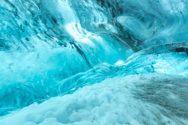 Textura da parede de gelo