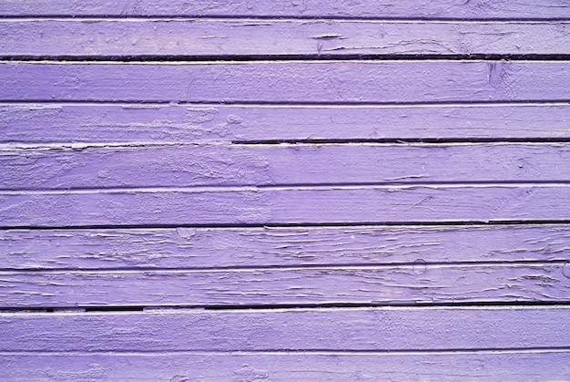Textura da parede de prancha de pintura de cor roxa para o fundo