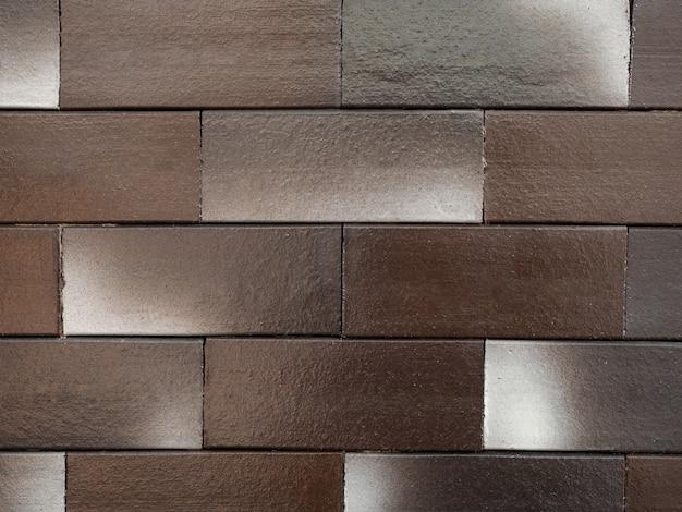 Textura da parede de tijolo para o fundo.