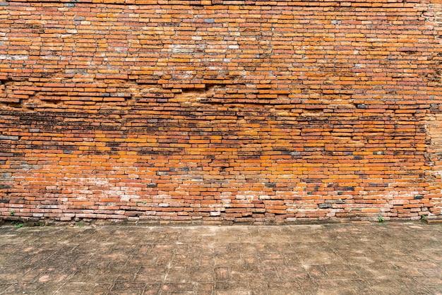 Textura da parede de tijolos para o fundo