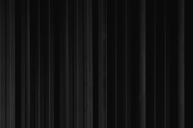 Textura da parede do recipiente da folha de metal da linha de tira preta para o fundo.