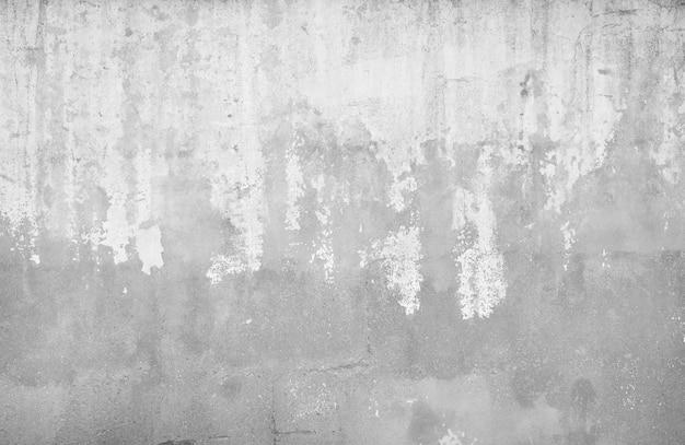 Textura da parede estragada com manchas brancas