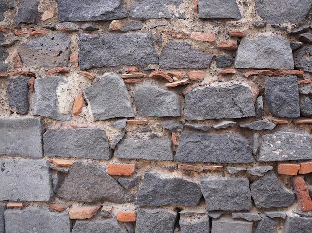 Textura da pedra da lava. textura de tijolos