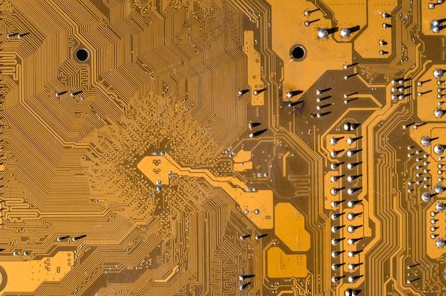 Textura da placa-mãe do computador