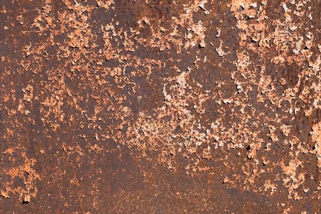 Textura de aço enferrujada abstrata