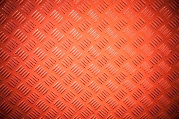 Textura de aço vermelha.