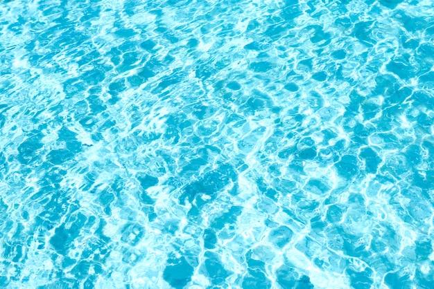 Textura de água azul com ondas pode ser usada como plano de fundo