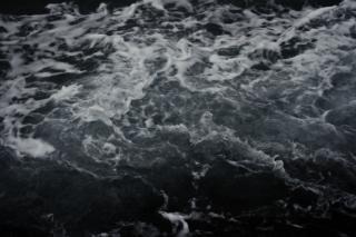 Textura de água escaldante, o movimento