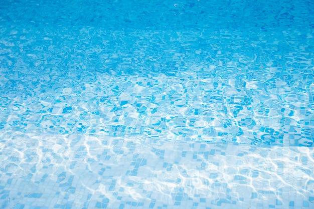 Textura de água na piscina