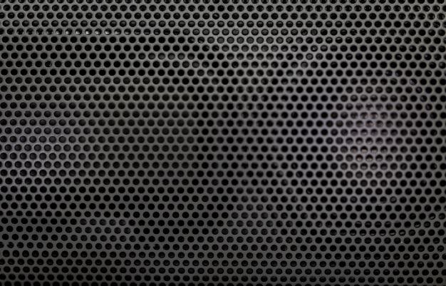 Textura de alto-falante bluetooth preto