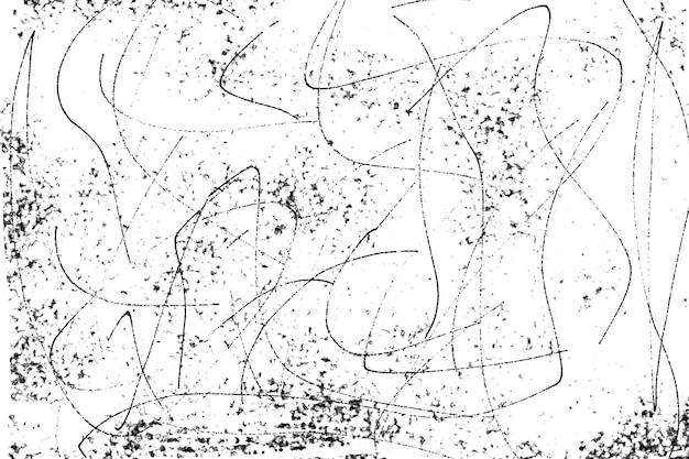 Textura de angústia preto e branco do grunge textura do grunge para fazer fonte do banner do pôster abstrato