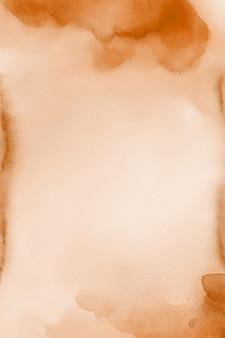 Textura de aquarela marrom papel digital água cor de fundo
