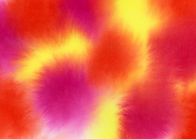 Textura de aquarela quente