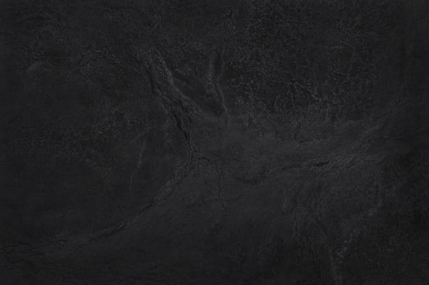Textura de ardósia preta cinza escura, fundo da parede de pedra preta natural.