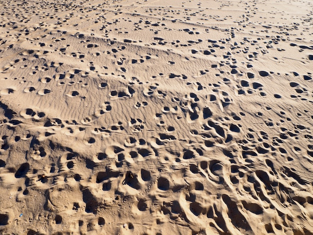 Textura de areia da praia