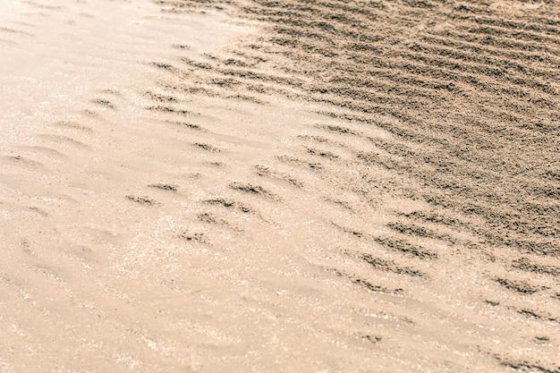 Textura de areia. fundo da natureza
