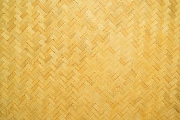 Textura de artesanato de bambu