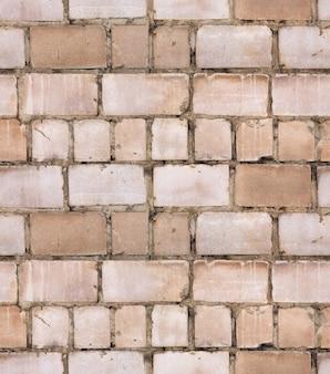 Textura de azulejos de parede com textura de tijolos antigos