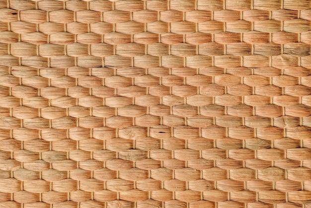 Textura de bambu trançado