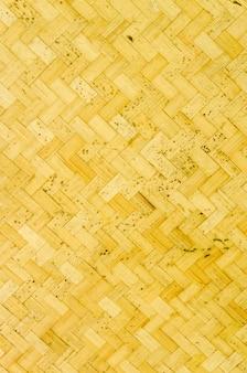 Textura de bambu velha e fundo