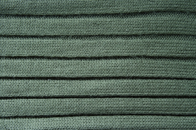 Textura de camisola de lã de perto