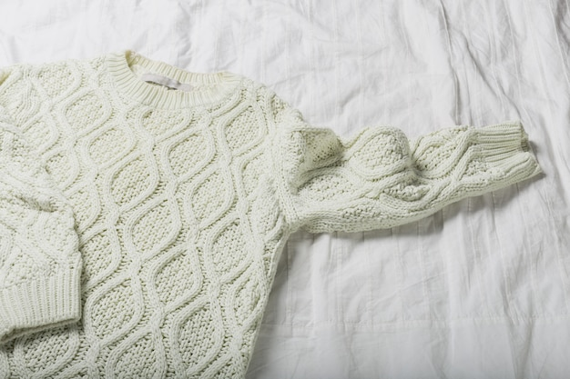 Textura de camisola