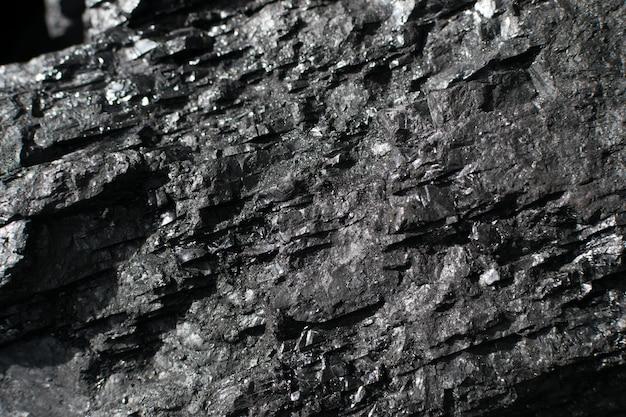Textura de carvão antracítico metalúrgico
