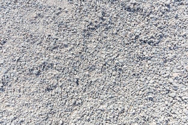 Textura de cascalho de granito