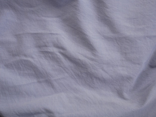 Textura de cetim de seda branca, fundo de tecido de algodão
