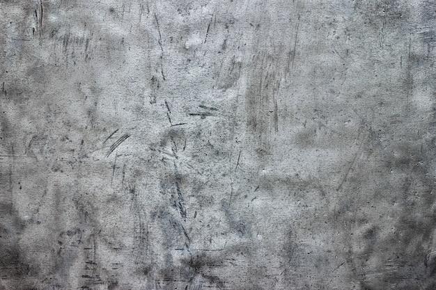 Textura de chapa de aço sujo, fundo metálico com danos