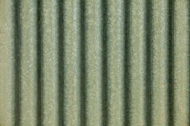 Textura de chapa metálica perfilada galvanizada