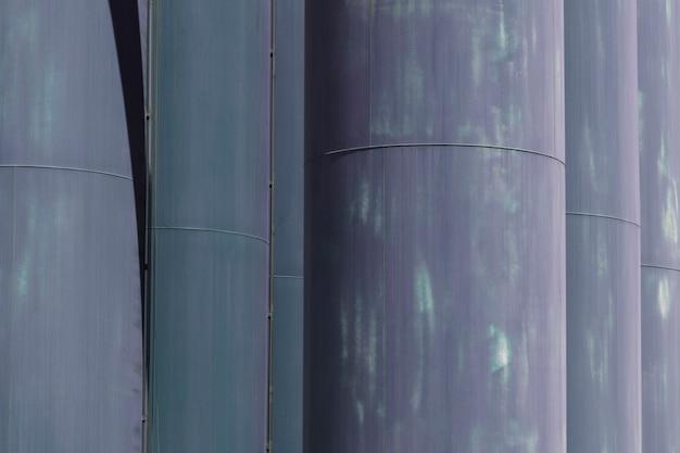 Textura, de, cima, estrutura metal