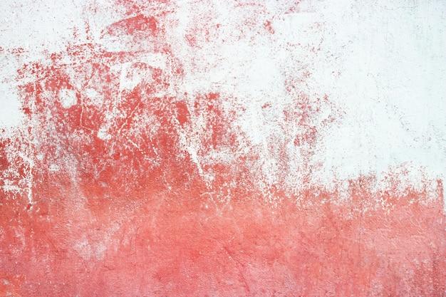 Textura de cimento vermelho, superfície de concreto da parede, fundo colorido