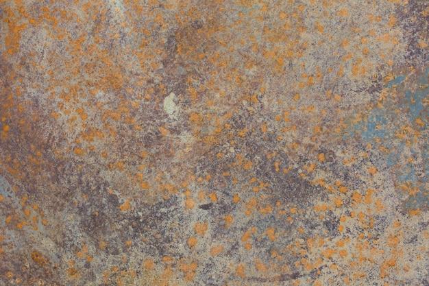 Textura de close-up de ferro enferrujado