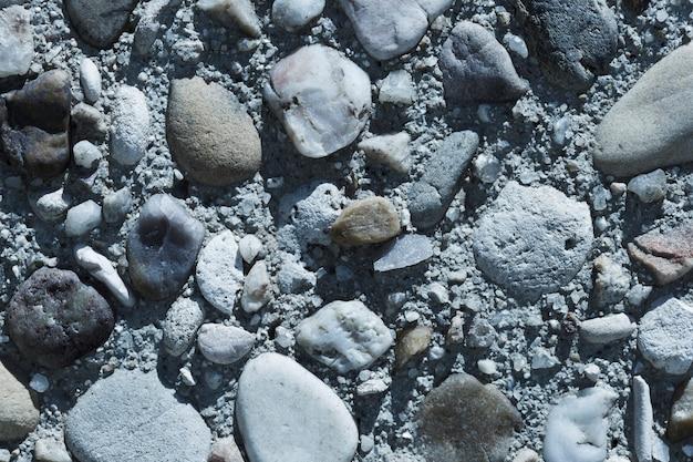 Textura de close-up de pedras