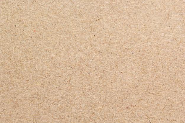 Textura de closeup de papel reciclado marrom