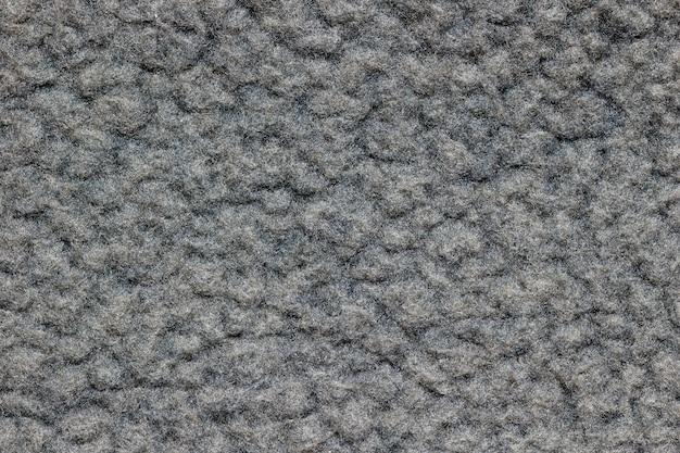 Textura de cobertor cinza.