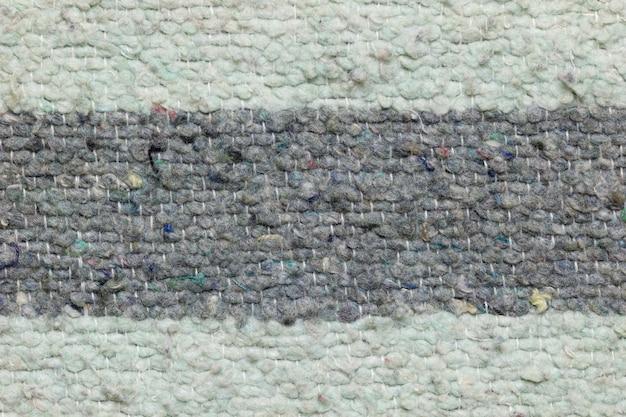 Textura de cobertor feito por tecido de pano.
