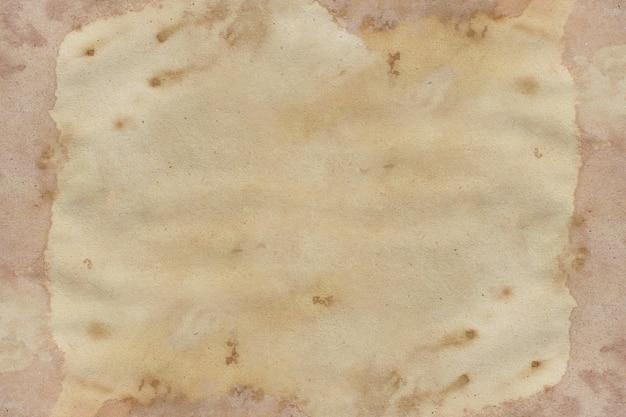 Textura de cor café grunge de papel pardo antigo