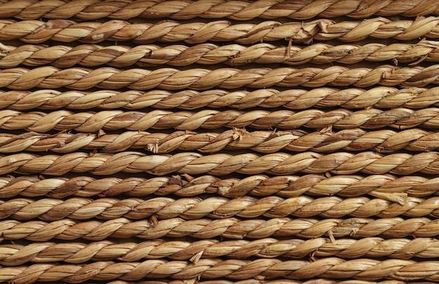 Textura de corda. lenço no fundo de várias linhas