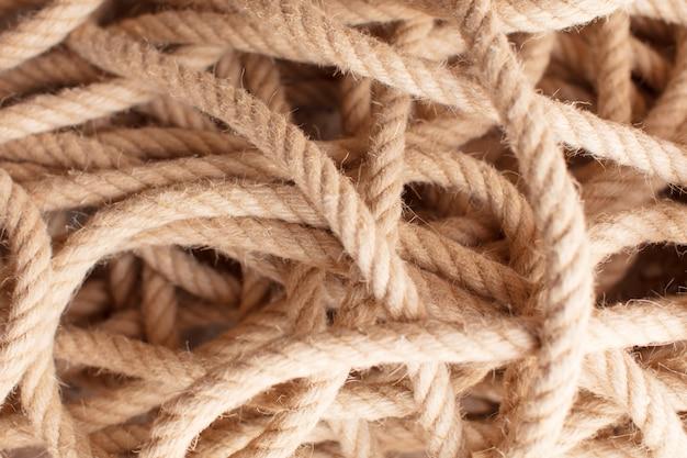 Textura de corda náutica quente