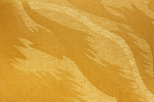 Textura de cortina cega de tecido amarelo