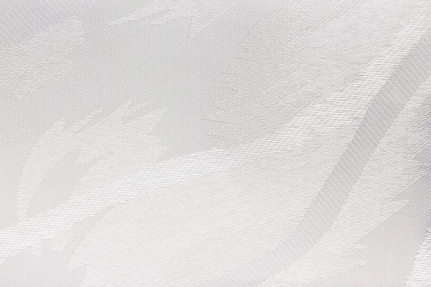 Textura de cortina cega de tecido branco
