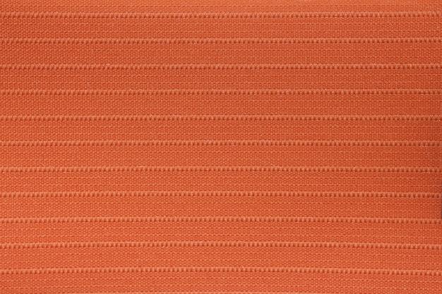 Textura de cortina cega de tecido laranja
