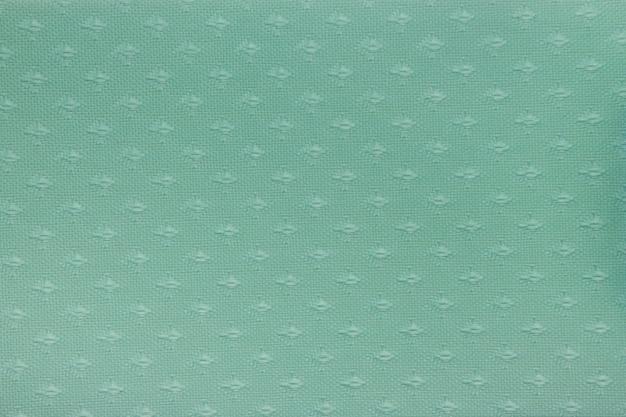 Textura de cortina cega de tecido verde