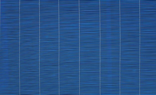 Textura de cortina de madeira azul