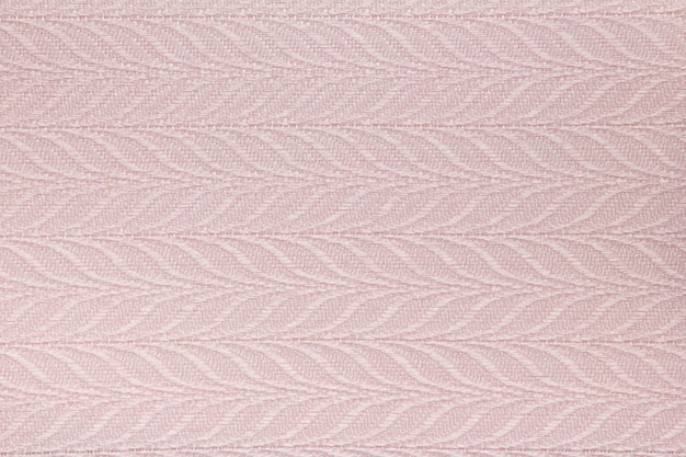Textura de cortina de tecido rosa
