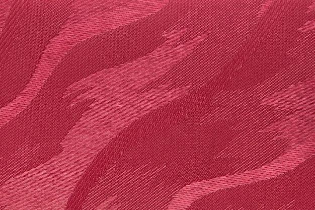 Textura de cortina de tecido vermelho